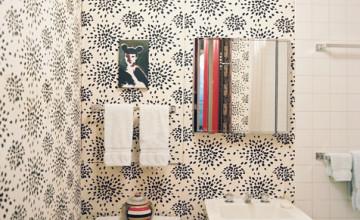 Wallpaper for Small Bathroom