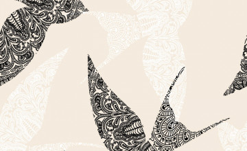 Wallpaper for Walls Bird Patterns