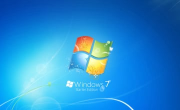 Wallpaper for Windows 7 Starter