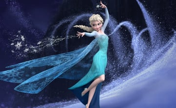 Wallpaper Frozen Elsa