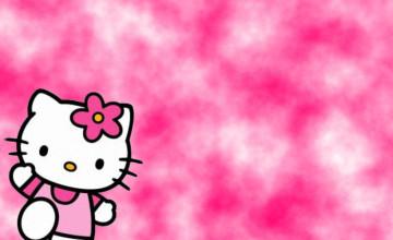 Kitty pink wallpaper dark hello 51+ Anime