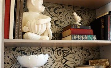 Wallpaper in Bookcases