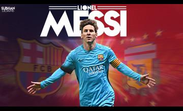 Wallpaper Lionel Messi 2016