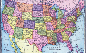 Wallpaper Maps of USA