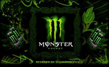 Wallpaper Monster Energy
