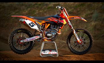 Wallpaper Motocross Ktm