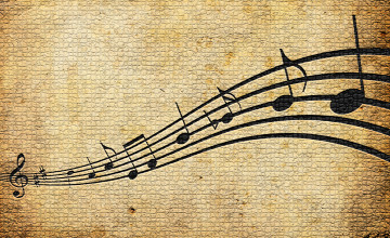 Wallpaper Musical Notes