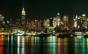Wallpaper New York Skyline