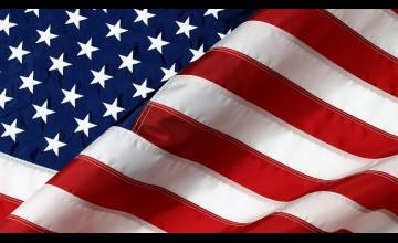 Wallpaper of American Flag