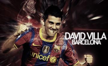 Wallpaper Of David Villa