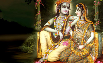 Wallpaper of Lord Krishna
