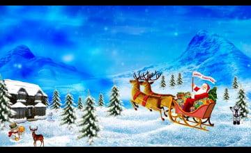 Wallpaper Of Merry Christmas