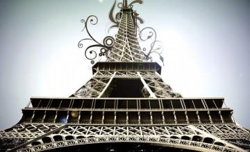Wallpaper Paris Theme