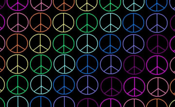 Wallpaper Peace Signs