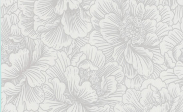 Wallpaper Silver and White
