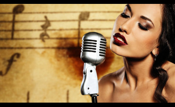 Wallpaper Singer