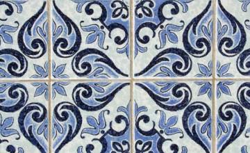 Wallpaper Spanish Tile Design