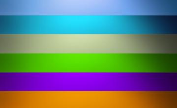 Wallpaper Stripes Horizontal Single Strip