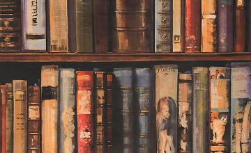 Wallpaper That Looks Like Books