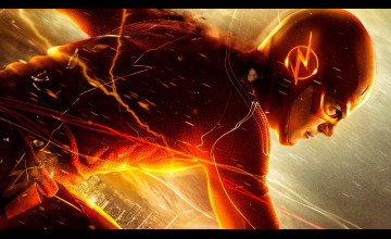 Wallpaper The Flash