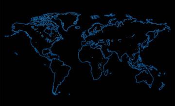 Wallpaper World Map