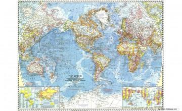 Wallpaper World Maps