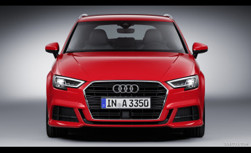 Wallpaper Audi S3 Red