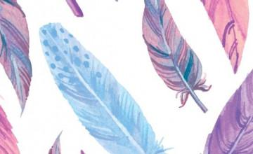 Wallpaper Feather Art