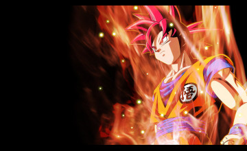 Wallpapers Goku Super Saiyan God