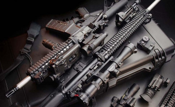 Wallpaper Rifles