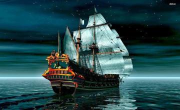 Wallpaper Ships