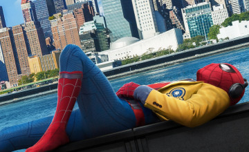 Wallpaper Spider-Man Homecoming Still