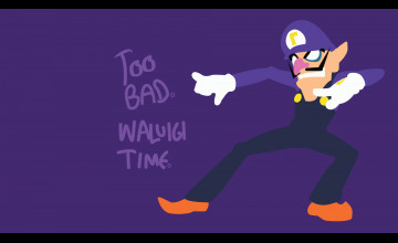 Waluigi Backgrounds