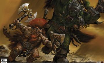 Warhammer ORC Wallpaper