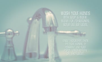 Wash Your Hands Wallpapers