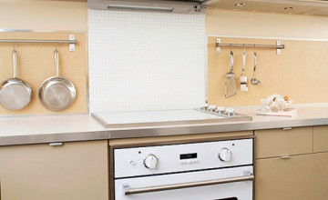 Washable Wallpaper Kitchen Backsplash