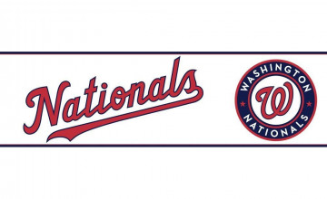 Washington Nationals Wallpaper Border
