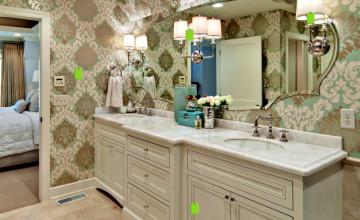 Water Resistant Wallpaper for Bathrooms