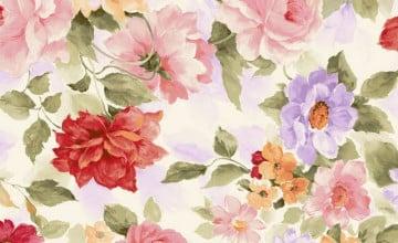 Watercolor Floral Wallpaper