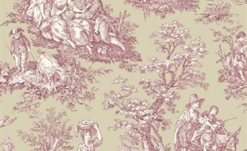 50 Waverly Country Toile Wallpaper On Wallpapersafari