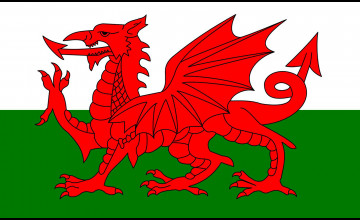 Welsh Flag Wallpaper