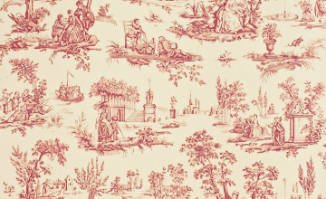 What is Toile Wallpaper