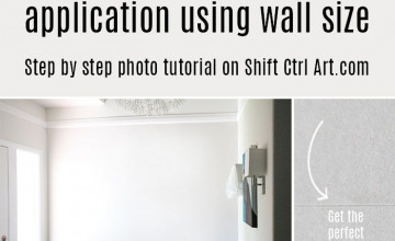 When to Use Wallpaper Sizing