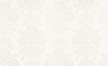 White on White Damask Wallpaper