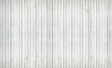 White Wash Wood Wallpaper