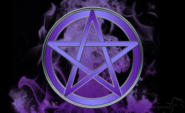 Wiccan Pentagram Wallpaper