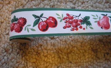 Wide Wallpaper Border 13 inches