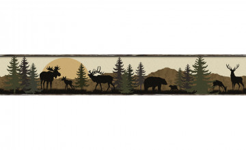 Wildlife Wallpaper Border