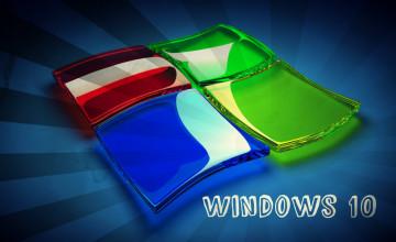 Windows 10 3D Wallpaper