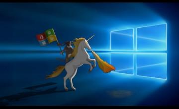 Windows 10 Ninja Cat Wallpaper